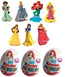 12 x LIMITED EDITION KINDER DISNEY PRINCESS UNOPENED SURPRISE EGGS