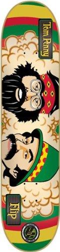 """Flip Penny Cheech & Chong Deck 8.0"""" Rasta P2 Skateboard Decks"""
