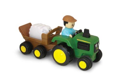 Ertl John Deere Pull and Go Tractor - 1