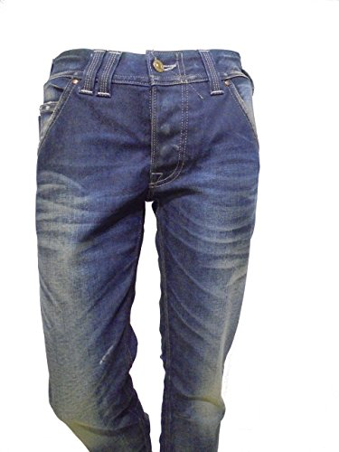 JEANS CYCLE WOMAN .ART. MPT029/S .TG 29 - ITA 42/44. SCONTO REALE -65% (BLU CHIARO) (BLU SCURO)