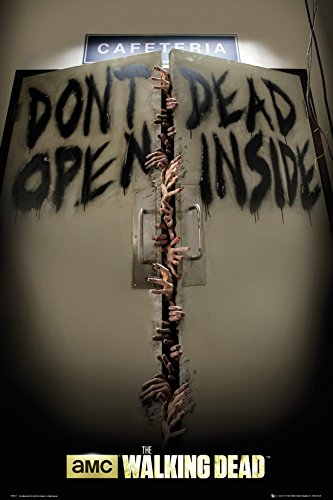 GB eye, The Walking Dead, Keep Out, Maxi Poster, 61x91.5cm