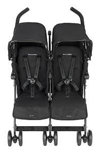 Maclaren 2012 Twin Techno Double Stroller - Black