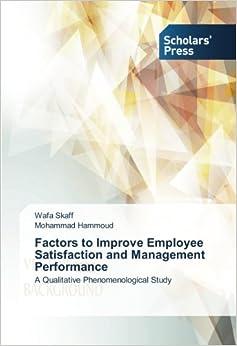Managers enhance job satisfaction