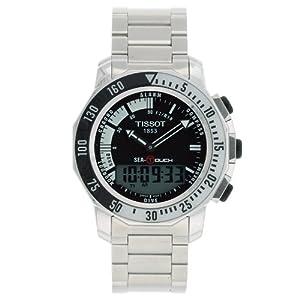 Tissot Men's T0264201105101 Sea-Touch Watch