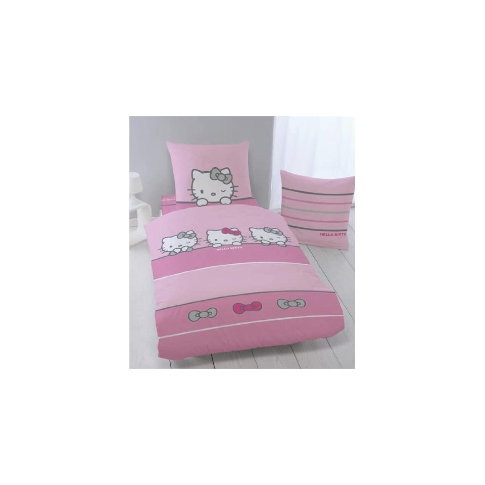Hello Kitty Bettwäsche Sleeping Kitty 135 X 200 Cm Biber Flanell