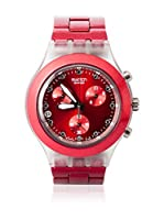 Swatch Reloj de cuarzo Unisex FULL-BLOODED SUNSET SVCK4044AG 43 mm