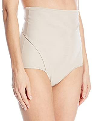 Leonisa Women's High-waist Postpartum Panty With Adjustable Belly Wrap