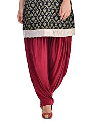 Pietra Maroon colored Pan Style Dhoti