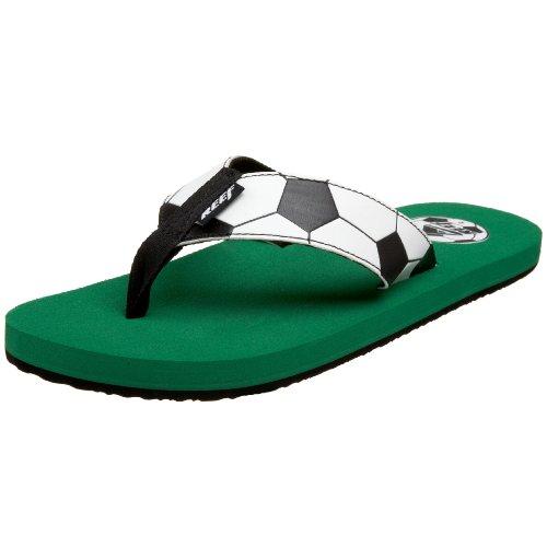 Cheap Reef Men's Futbol Goooaaal Thong (B002PHMM02)