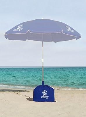 SOLBOY - Der Schirmständer für den Strandschirm, Sonnenschirmhalter (SONDEREDITION TÜRKIS) von Solboy - Gartenmöbel von Du und Dein Garten