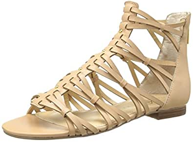 Ivanka Trump Women's Itbafi Gladiator Sandal,Fawn,6 M US