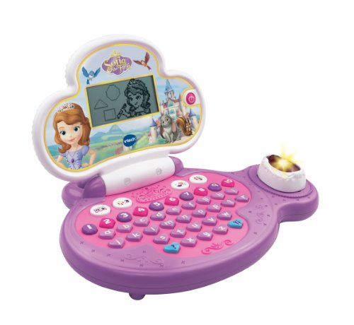 Sofia the First - Ordenador educativo Princesa Sofia (VTech 155303) (versión en inglés)