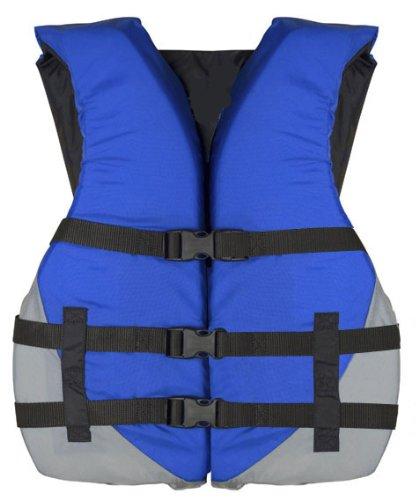 MW Adult Universal Life Jacket Ski Vest - Blue