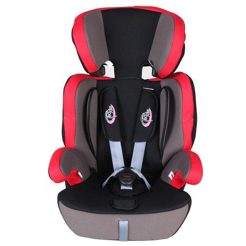 Opiniones de tectake silla de coche para ni os grupos 1 2 3 pesos de 9 36 kg negro rojo - Tectake silla de coche para ninos ...