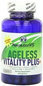 RevolutionVS Ageless Vitality Plus Diet Supplement Capsules, 60 Count