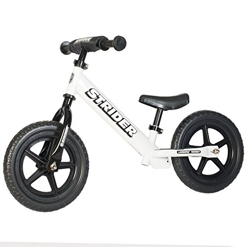 Lowest Price! Strider - Sport No Pedal Balance Bike - 2015 White