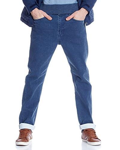 Levi's Strauss Jeans Line 8 522 Taper Slim [Blu]