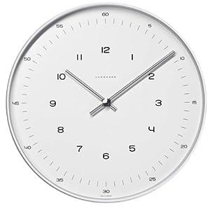 Junghans 367604700 - Reloj analógico de pared (30 cm) y mecanismo de cuarzo marca Junghans