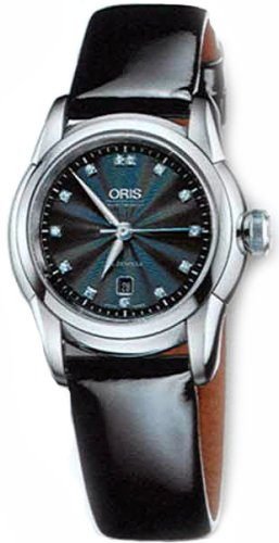 Oris Women's 561 7548 4094LS Artelier Date Dial with Diamonds Automatic Watch
