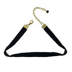 Crochita Black Velvet Choker Necklace Kendal Jenner Style
