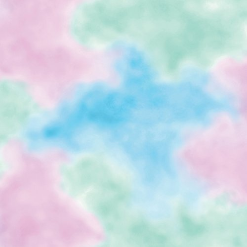 Imperial Disney Home DF059701 Watercolor Cloud Wallpaper, Paster, 20.5-Inch Wide - 1