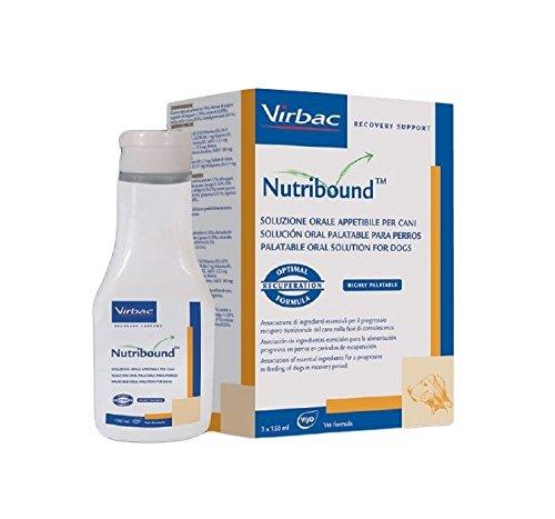 Virbac Nutribound per cane - Soluzione orale per il recupero funzionale in convalescenza del cane