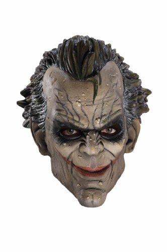 Rubies Costume Co Batman Arkham City Three-fourth Vinyl Joker Mask at Gotham City Store