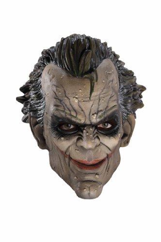 Batman Arkham City Three-Fourth Vinyl Joker Mask