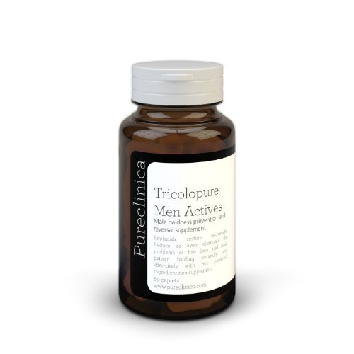 Pureclinica Tricolopure Men Actives . Prevent And Reverse Hairloss And Baldness In Men. Same Ingredients As Nourkrin But Twice The Strength