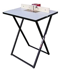 "Rousseau 3101 24"" x 32"" Folding Portable Router Table with Fence"