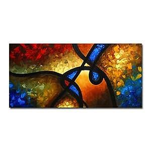 Sk dipinto a mano astratto pittura ad olio in piedi con for 300 piedi quadrati a casa