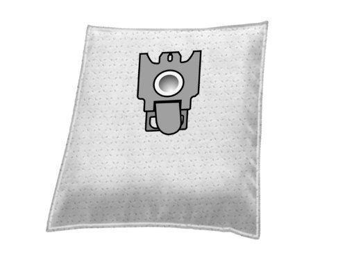 For Miele Classic C1 range 8 fleece vacuum cleaner bags and 2 filters