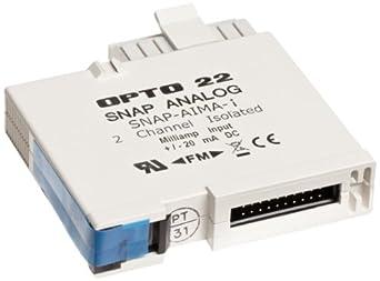 Opto 22 SNAP-AIMA-i - SNAP Analog Input Module, 2 Isolated Channels, -20 mA to +20 mA Input