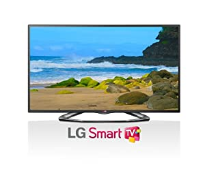LG Electronics 42LA6200 42-Inch Cinema 3D 1080p 120Hz LED-LCD HDTV with Smart TV and Four Pairs of 3D Glasses