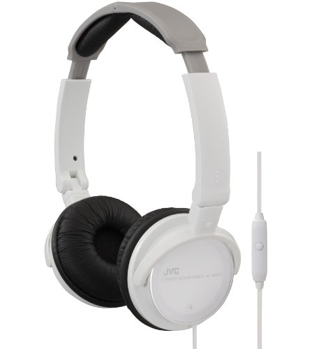 jvc-hasr500w-foldable-lightweight-headphones-with-mic-white