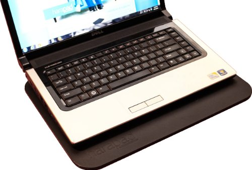"Black Laptop EMF Radiation Protection HARApad Heat Shield For 13/"" Laptops"