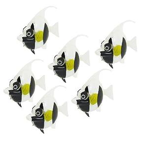piezas Blanco Negro Amarillo artificiales Columpio Tails simulados