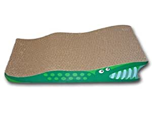 SCRATCH'M Crocodile Cat Scratcher with Catnip