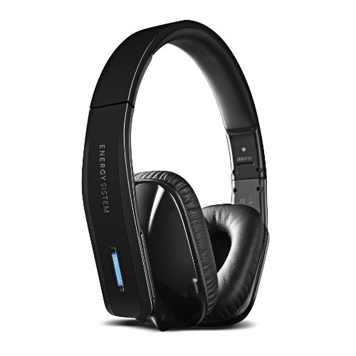 Energy SistemTM Bluetooth and NFC stereo headphones Energy Wireless BT7 NFC Black (mic and line-in) Black Friday & Cyber Monday 2014