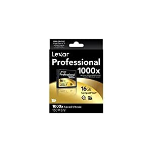 Lexar Professional 1000x 16GB CompactFlash Card 2-Pack LCF16GCTBNA10002