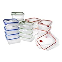 STERILITE 03078601 Ultra-Seal Food Storage Set, 36 Piece