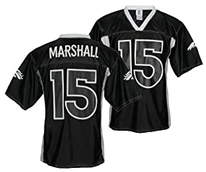 Buy Denver Broncos Brandon Marshall #15 NFL Mens Night Jersey, Black by NFL