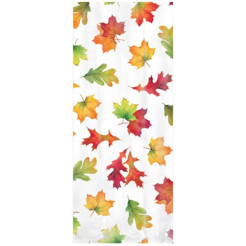 Fall Leaves Small Party Bag 20ct - 1