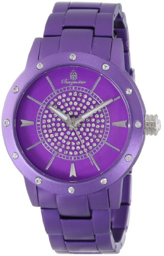 Burgmeister Crazy Color Women's Quartz Watch with Purple Dial Analogue Display and Purple Bracelet BM164-090A