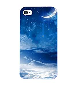 Mental Mind 3D Printed Plastic Back Cover For Iphone 4s - 3DIP4S-G963