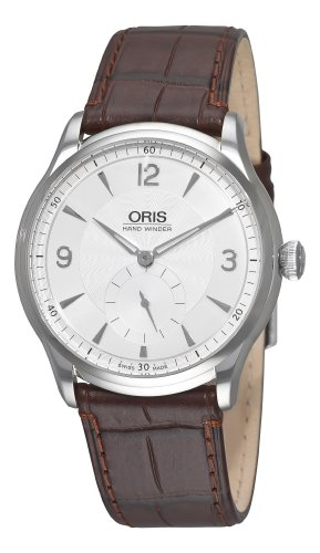 Oris Men's 39675804051LS Artelier Manual Wind Silver Dial Watch