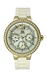 JLO Multifunction Ceramic - Ivory Women's watch #JL/2702IMIV