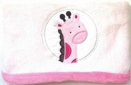 Li'l Kids Girls Giraffe Fleece Blanket