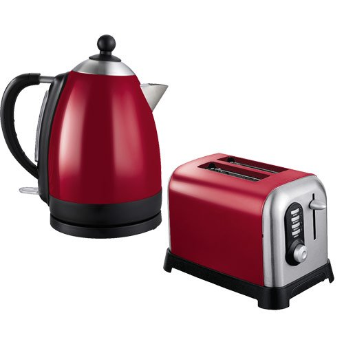 Red Kettle Amp Toaster Sets Home