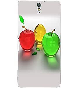 SONY XPERIA C5 COLORFUL APPLES Back Cover by PRINTSWAG